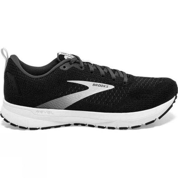 Brooks Women's Revel 4 Black/Oyster/Silver