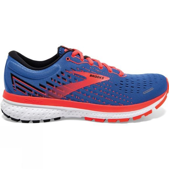 Brooks Women's Ghost 13 Blue/Coral/White