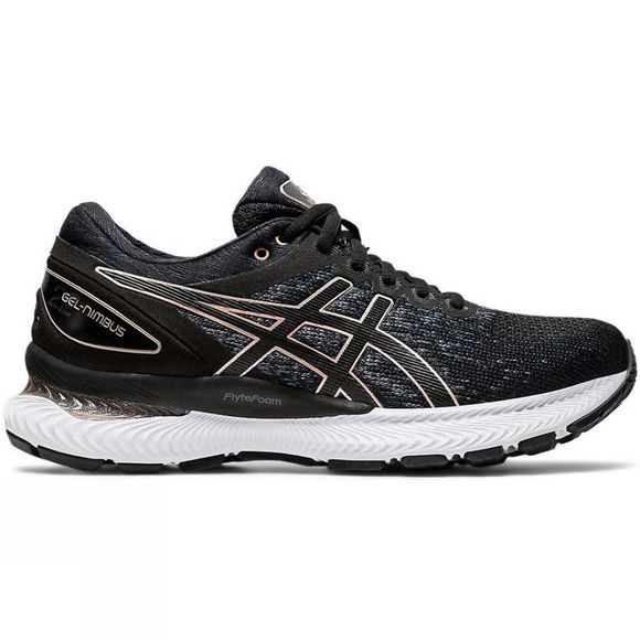 Asics Womens Gel-Nimbus 22 Knit BLACK/BLACK