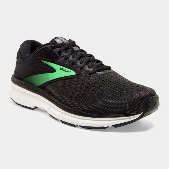 Brooks Womens Dyad 11 Wide Black/Ebony/Green