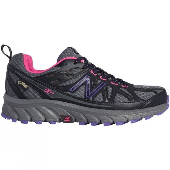 New Balance Women's 610 v4 Silver/Black