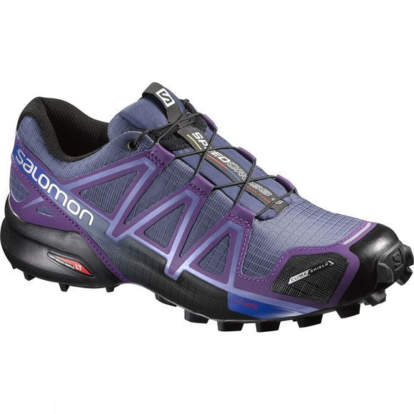 Salomon Women's Speedcross 4 CS Slateblue / Cosmic Purple