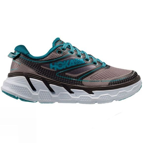 Hoka One One Womens Conquest 3 Pavement / Gull