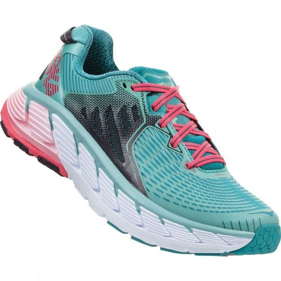 Hoka One One Womens Gaviota Canton / Green Blue Slate