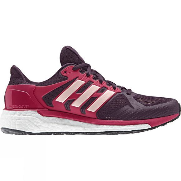 Adidas Womens Supernova ST Red Night/Icey Pink/ Energy Pink