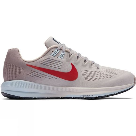 Nike Womens Air Zoom Structure 21 Vast Grey/Habanero Red-Elemental Rose
