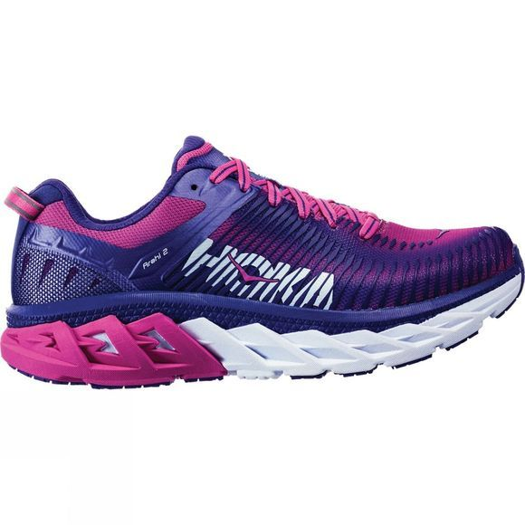 Hoka One One Womens Arahi 2 Liberty / Fuchsia