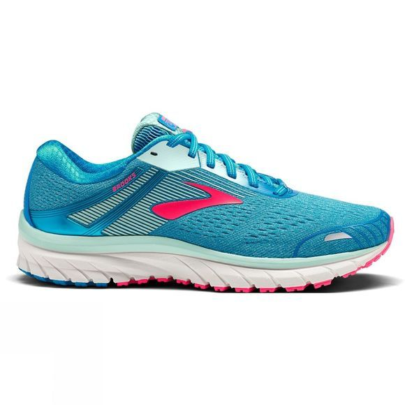 Brooks Womens Adrenaline GTS 18 Blue/Mint/Pink