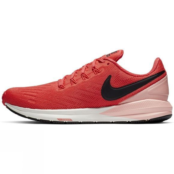 Nike Womens Air Zoom Structure 22 Ember Glow/Oil Grey-Bleached Coral