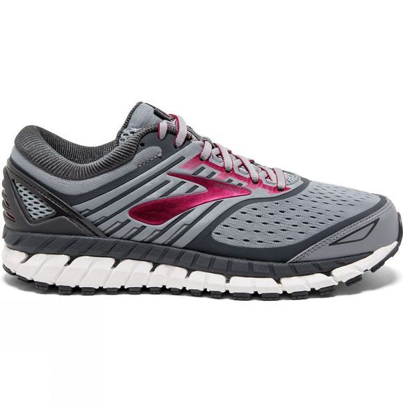 Brooks Womens Ariel '18 Extra Wide Grey/Grey/Pink