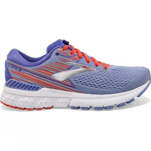 Brooks Womens Adrenaline GTS 19  Bel Air Blue/Coral/Silver