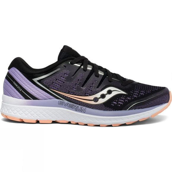Saucony Womens Guide ISO 2 Black / Purple