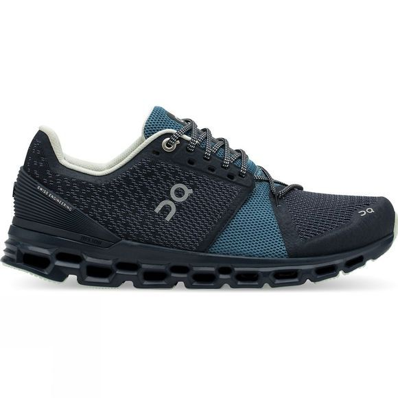 On Women's Cloudstratus Navy/Dust
