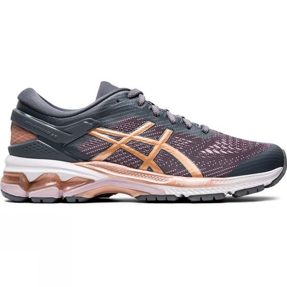 Asics Women's Gel-Kayano 26 METROPOLIS/ROSE GOLD
