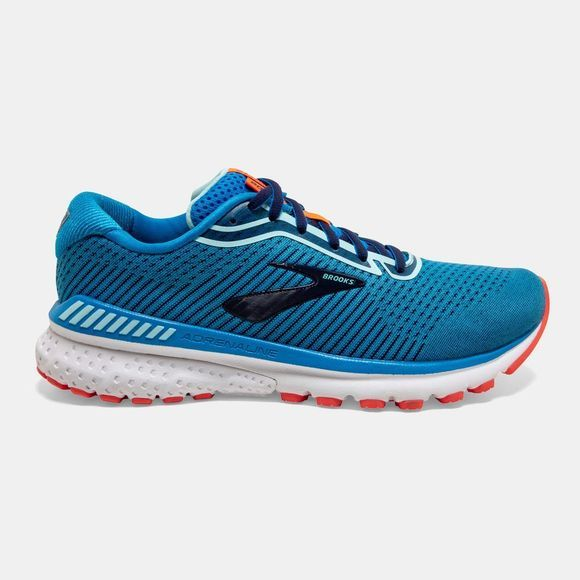 Brooks Women's Adrenaline GTS 20 Narrow Blue/Navy/Coral