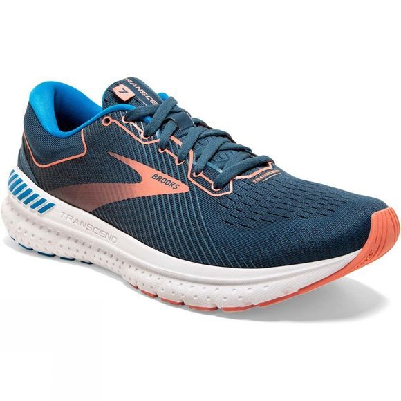 Brooks Women's Transcend 7 Majolica/Navy/Desert