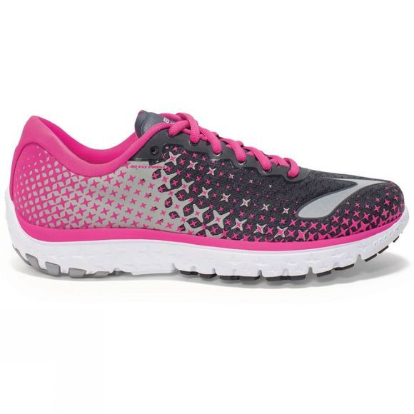 Brooks Women's PureFlow 5 Anthracite / Pink Glow