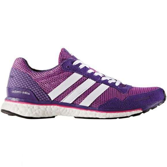Adidas Women's Adizero Adios 3 Shock Purple/White/Purple