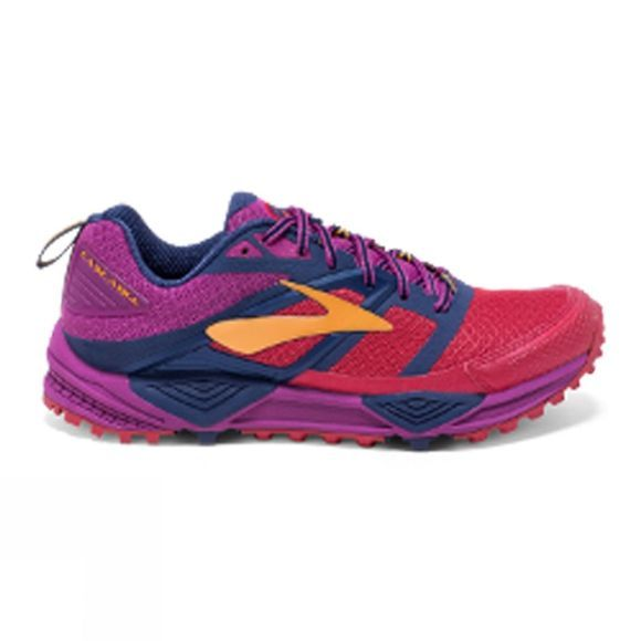 Brooks Women's Cascadia 12  Poppy Red/Peacoat/Baton Rouge