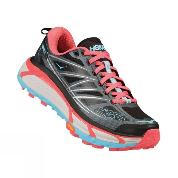 Hoka One One Women's Mafate Speed 2 Anthracite/Blue Topaz
