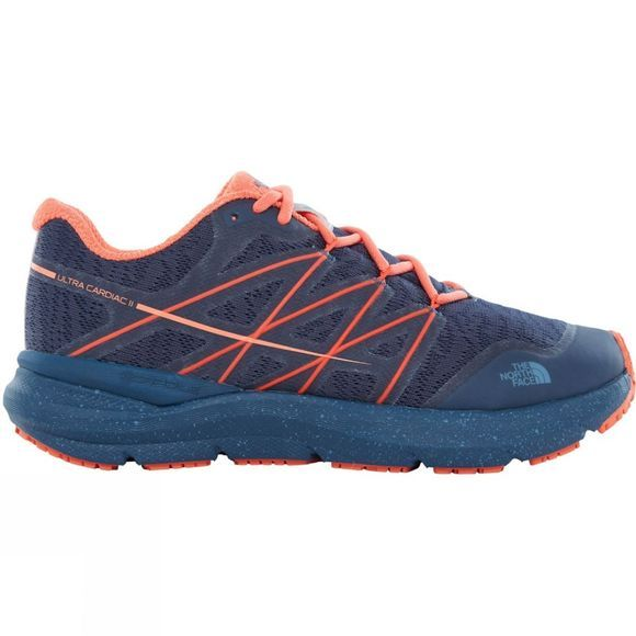 The North Face Women's Ultra Cardiac II Shady Blue/Nasturtium Orange
