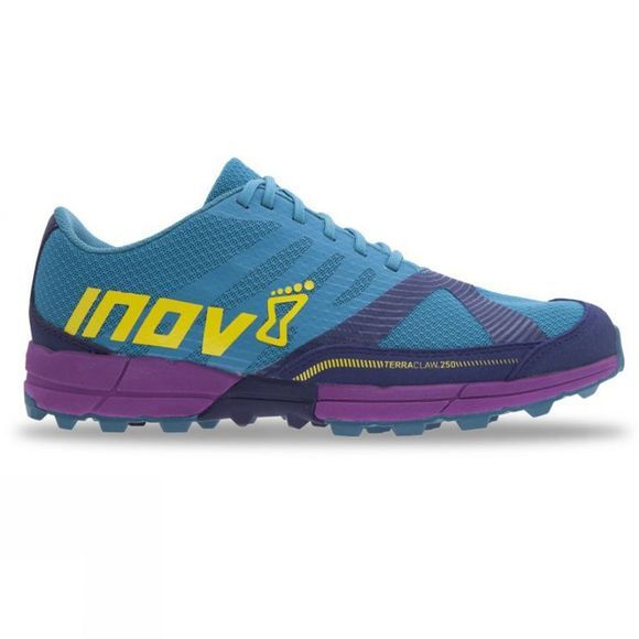 Inov-8 Women's Terraclaw 250 Teal/Navy/Purple