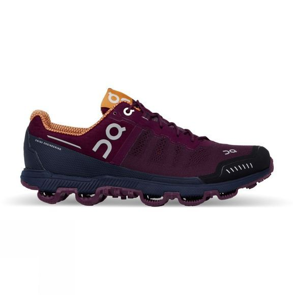 On Womens Cloudventure Mulberry / Salmon