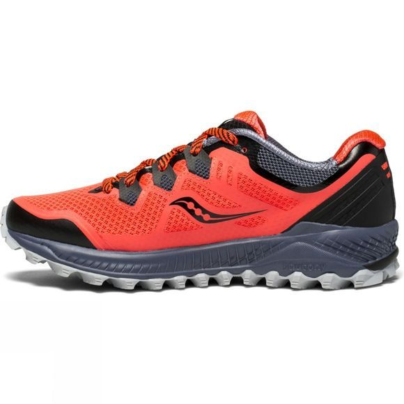 Saucony Womens Peregrine 8 Vizired/Grey/Black