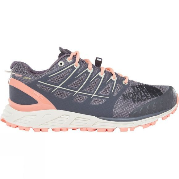 The North Face Women's Ultra Endurance II GTX Shoe Blackened Pearl/Desert Flower Orange