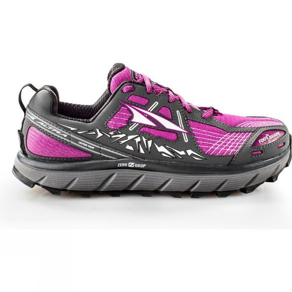 Altra Womens Lone Peak 3.5 Shoe Purple