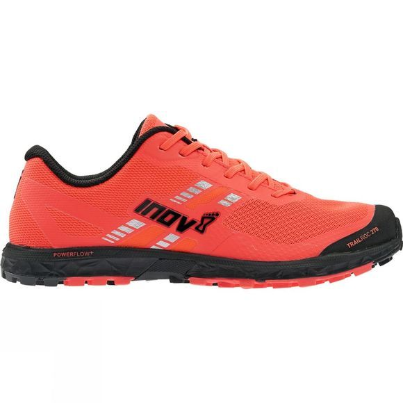 Inov-8 Womens Trailroc 270 Shoe Coral/ Black