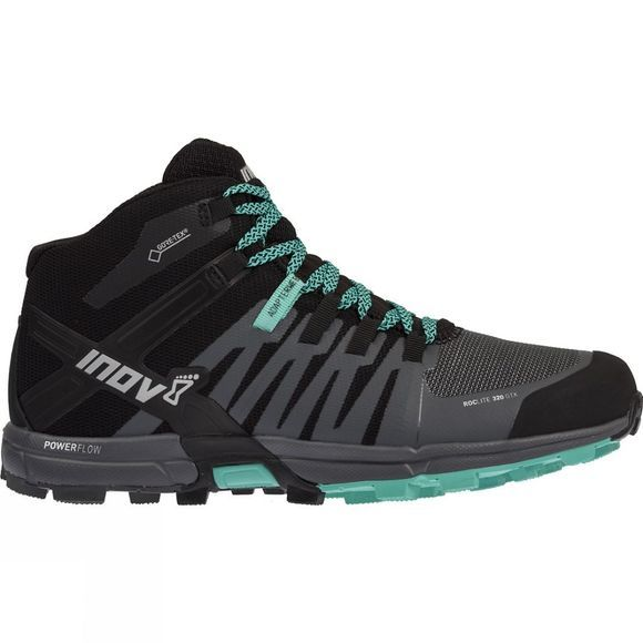Inov-8 Womens Roclite 320 Gtx Trail Running Shoe Black/ Grey/ Teal