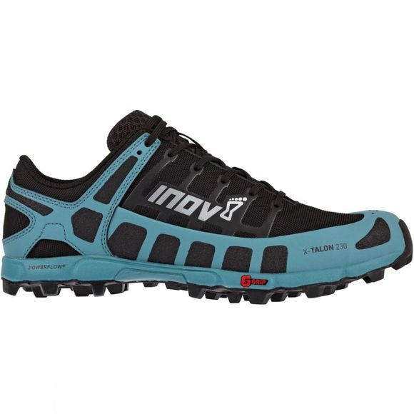 Inov-8 Womens X-Talon 230 Trail Running Shoe Black/Blue Grey