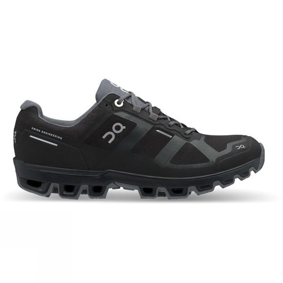 On Womens Cloudventure Waterproof Black | Graphit