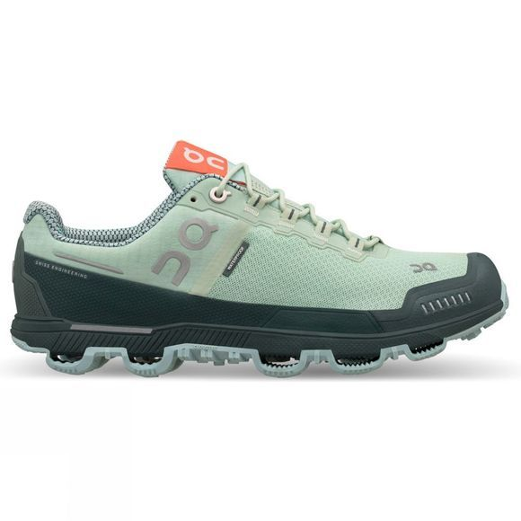 On Womens Cloudventure Waterproof Mineral / Olive