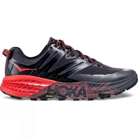 Hoka One One Womens Speedgoat 3 Dark Shadow/ Poppy Red