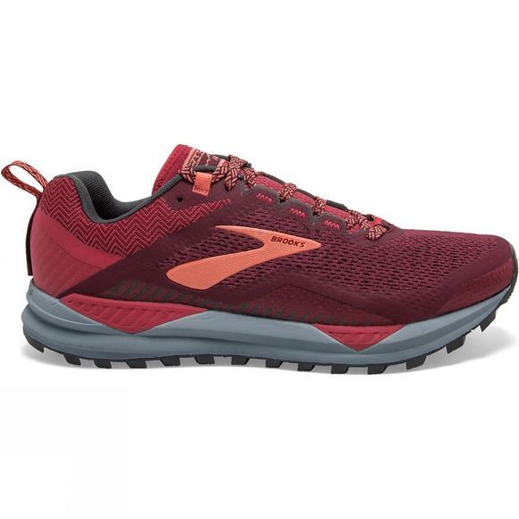 Brooks Women's Cascadia 14 Rumba Red/ Teaberry/Coral