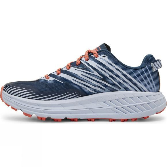 Hoka One One Womens Speedgoat 4 wide Majolica Blue/Heather