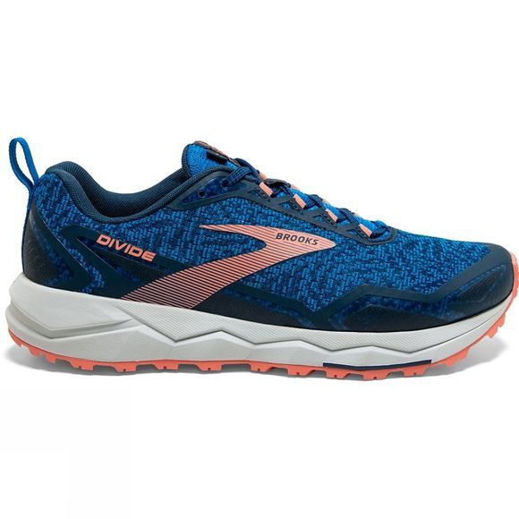 Brooks Women's Divide Blue/Desert Flower/Grey