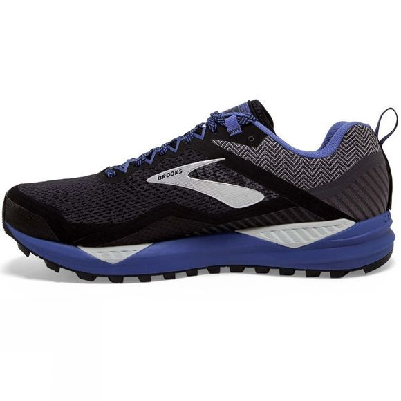 Brooks Women's Cascadia 14 GTX Black/Grey/Blue