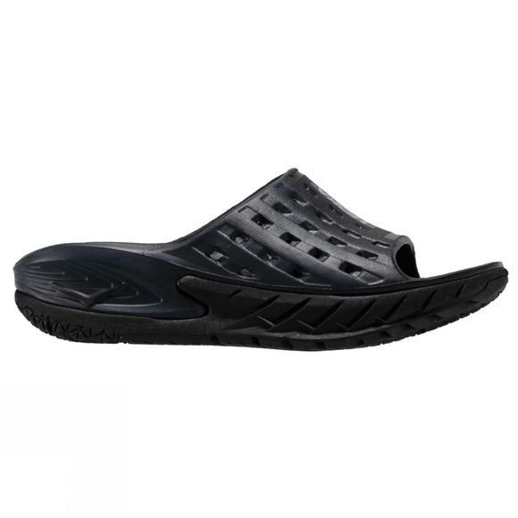 Hoka One One Women's Ora Recovery Slide Black / Anthracite