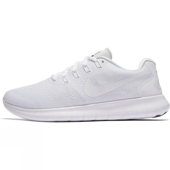 Nike Women's Free RN 2017 White/White-Black-Pure Platinum