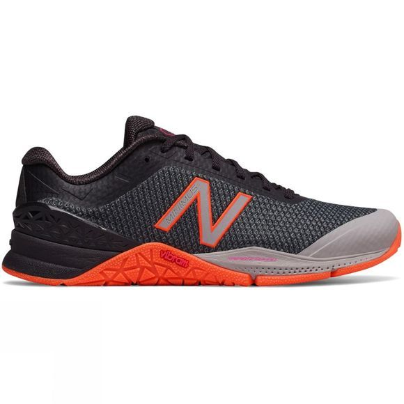 New Balance Womens Minimus 40 Black/Orange