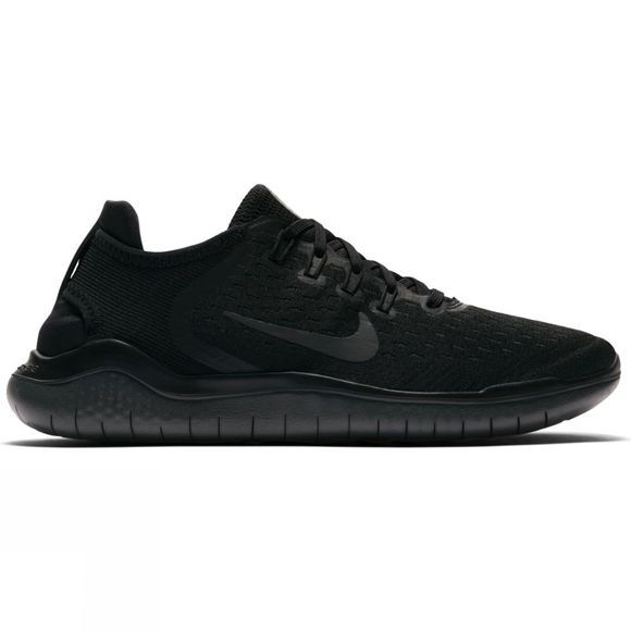 Nike Womens Free RN Flyknit 2018 Black/Anthracite