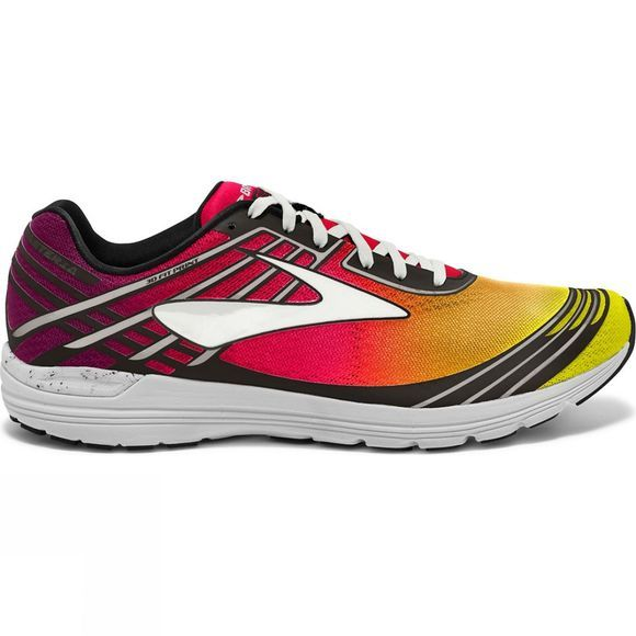 Brooks Womens Asteria Plum Caspia/Diva Pink/Orange Pop