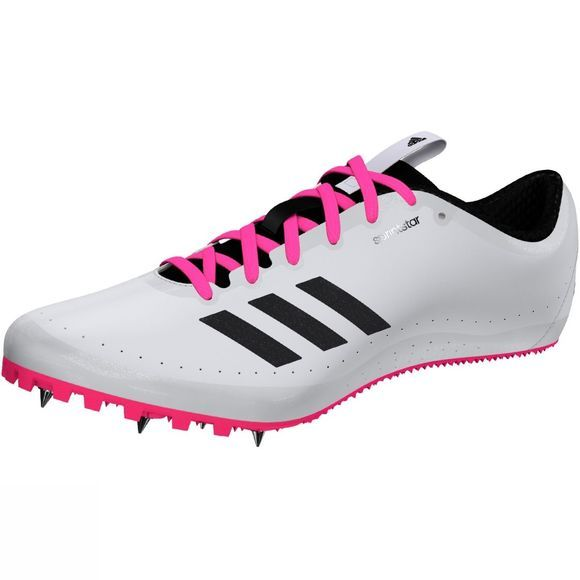Adidas Women's Sprintstar Running Spikes FTWR White/Core Black/Shock Pink S16