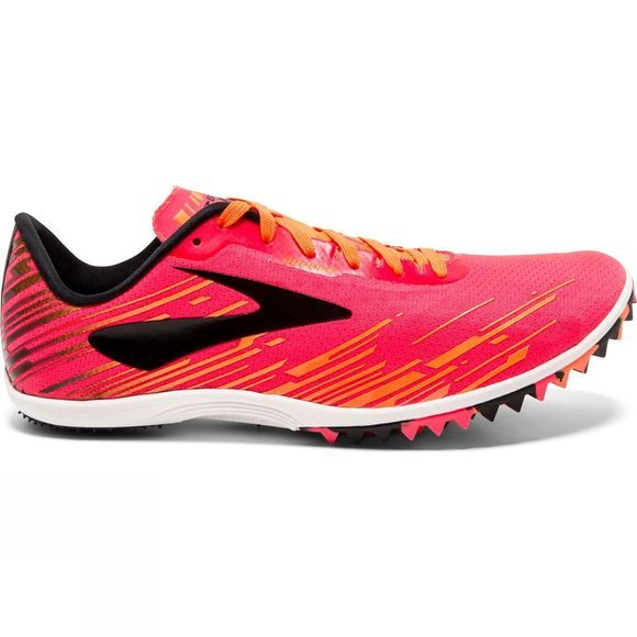 Brooks Womens Mach 18 Spikeless Pink/Orange/Black