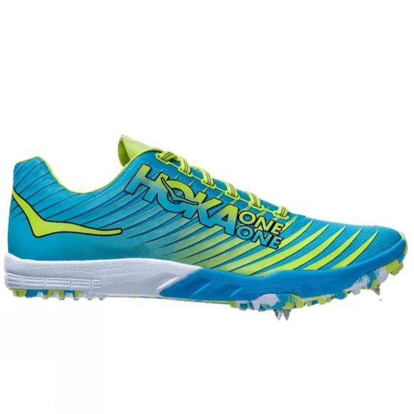 Hoka One One Womens Evo XC Cyan / Citrus
