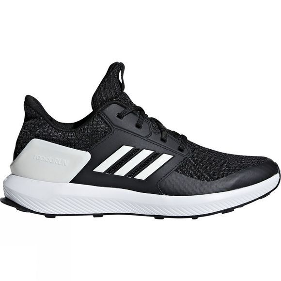 Adidas Kids RapidaRun Knit Core Black/Cloud White/Carbon