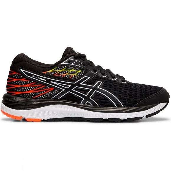 Asics Boy's Gel-Cumulus 21 GS BLACK/WHITE